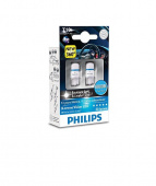 Светодиод PHILIPS 12V T10 W5W (W2.1x9.5d) LED 8000K (2шт) (127998 KX2)